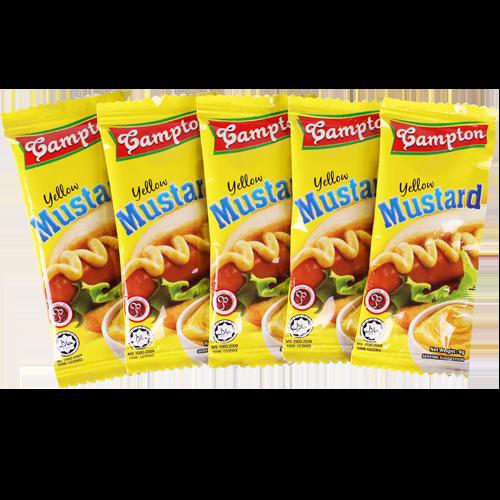Yellow Mustard Sachet 9G